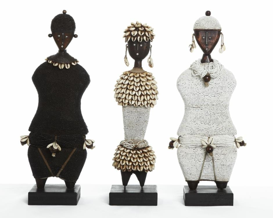 Beaded Namji Dolls