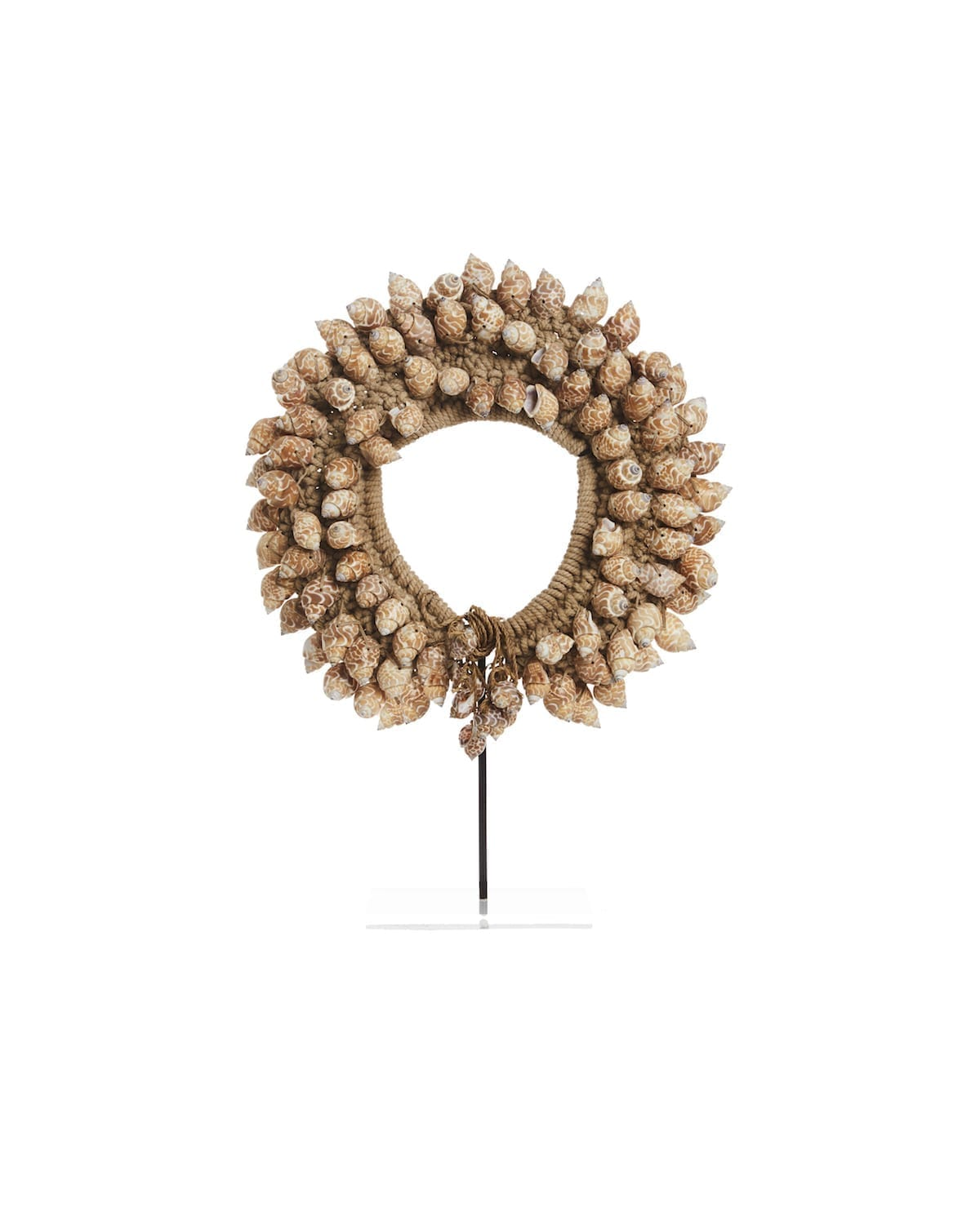 Caramel Shell Necklace