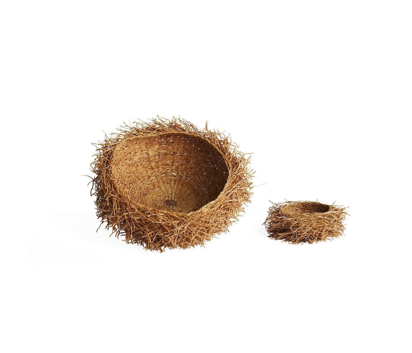 Large and Small Madagascar Basket Nests